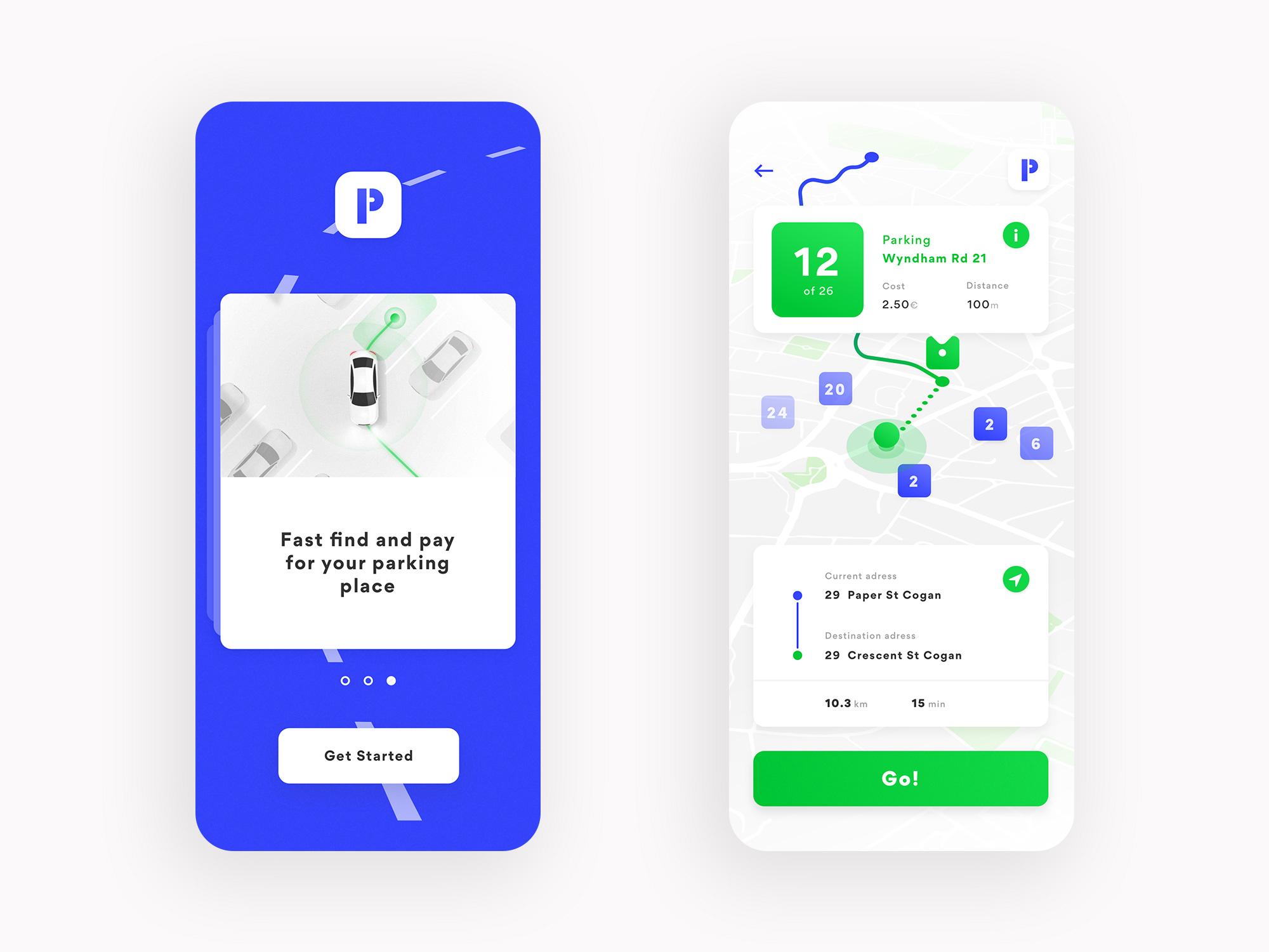 Marcin Romaniuk Parking App